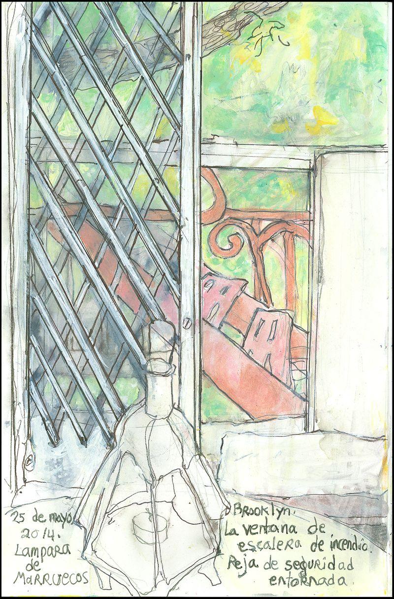 May25_2014_lampara de marruecos_brooklyn_la ventana de la escalera de incendio