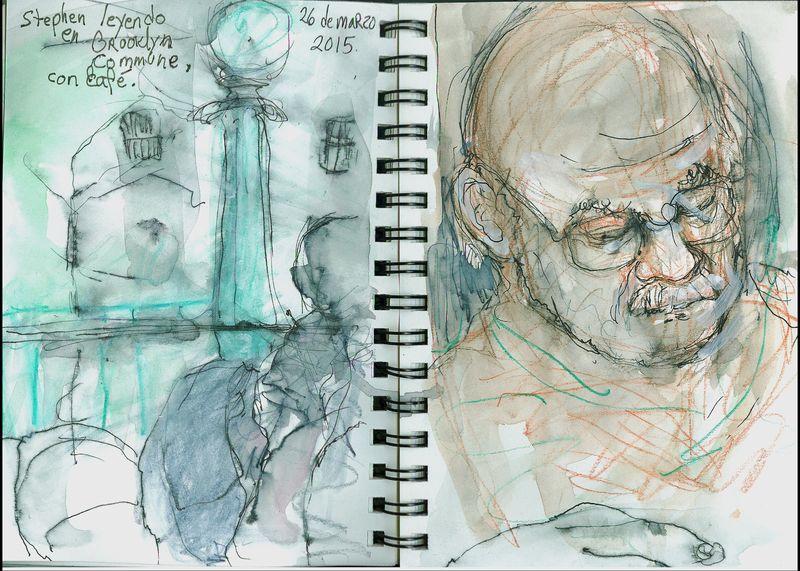 March26_2015_stephen leyendo en brooklyn commune